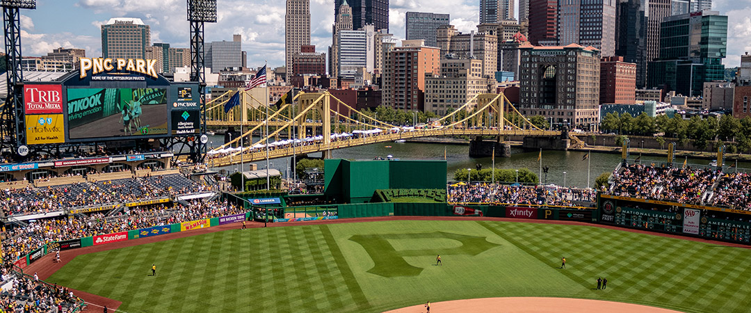 Pittsburgh Pirates Play at PNC Park